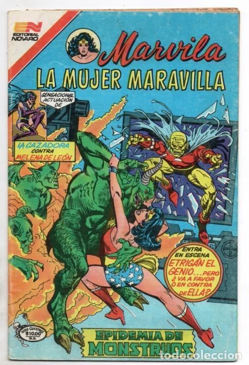 Tebeos: MARVILA # 3-281 NOVARO 1982 WONDER WOMAN TIERRA DOS CAZADORA LEVITZ GIELLA CONWAY STATON DELBO MUY B - Foto 2 - 165274298