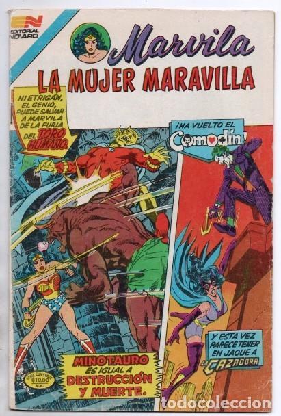 Tebeos: MARVILA # 3-283 NOVARO 1982 WONDER WOMAN COMODIN TIERRA DOS CAZADORA LEVITZ GIELLA CONWAY STATON - Foto 2 - 165389934