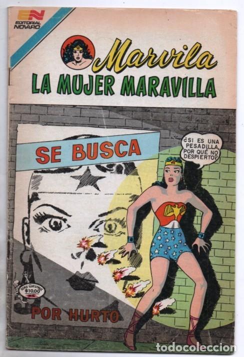 MARVILA # 3-290 NOVARO 1982 WONDER WOMAN MOULTON LA MUJER DELINCUENTE LOS SELLOS DE LA MUERTE 1959 (Tebeos y Comics - Novaro - Sci-Fi)