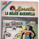 Tebeos: MARVILA # 3-290 NOVARO 1982 WONDER WOMAN MOULTON LA MUJER DELINCUENTE LOS SELLOS DE LA MUERTE 1959. Lote 165417298