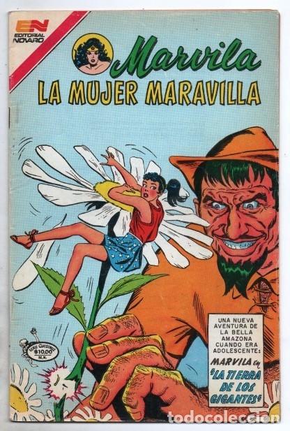 MARVILA # 3-292 NOVARO 1982 WONDER WOMAN MOULTON LA TIERRA DE LOS GIGANTES # 108 1959 EXCELENTE (Tebeos y Comics - Novaro - Sci-Fi)