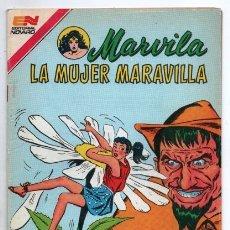 Tebeos: MARVILA # 3-292 NOVARO 1982 WONDER WOMAN MOULTON LA TIERRA DE LOS GIGANTES # 108 1959 EXCELENTE. Lote 165417478