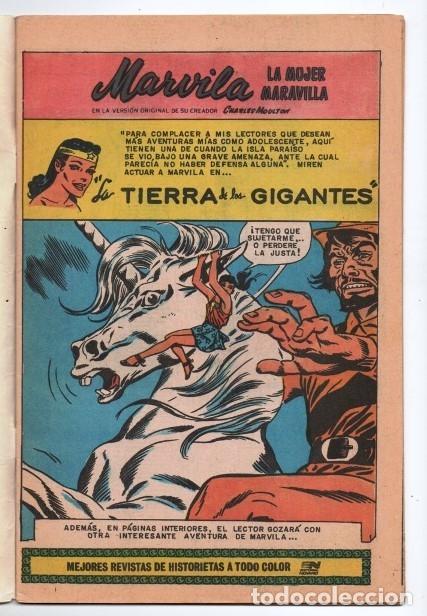 Tebeos: MARVILA # 3-292 NOVARO 1982 WONDER WOMAN MOULTON LA TIERRA DE LOS GIGANTES # 108 1959 EXCELENTE - Foto 2 - 165417478