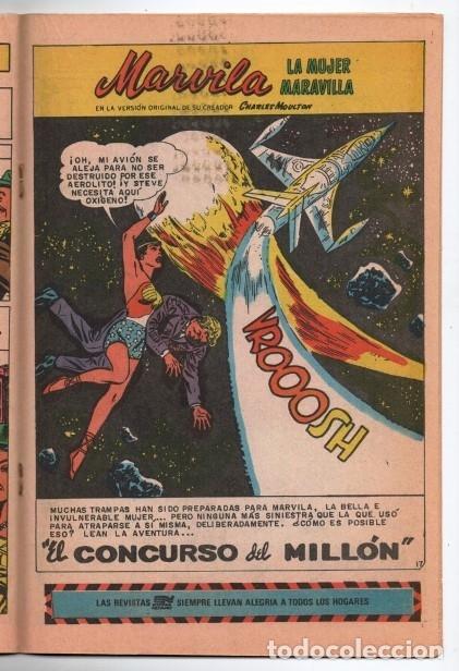 Tebeos: MARVILA # 3-292 NOVARO 1982 WONDER WOMAN MOULTON LA TIERRA DE LOS GIGANTES # 108 1959 EXCELENTE - Foto 5 - 165417478