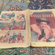 Tebeos: AVENTURA Nº140 RANGE RIDER - LOS MALEANTES ENMASCARADOS NOVARO 1960 . Lote 165440342
