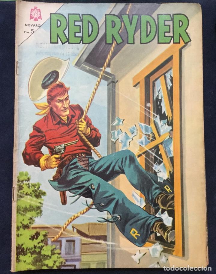 RED RYDER 6 COMICS 2 EPOCAS (60S Y 70S) MUY BUEN ESTADO (Tebeos y Comics - Novaro - Red Ryder)
