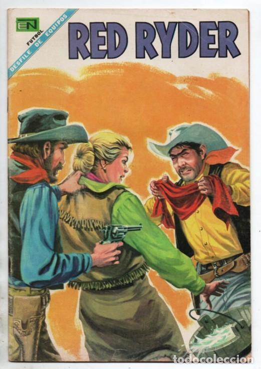 RED RYDER # 171 NOVARO 1968 CASTORCITO EL SECUESTRO DE LA DUQUESA MUY BUEN ESTADO (Tebeos y Comics - Novaro - Red Ryder)