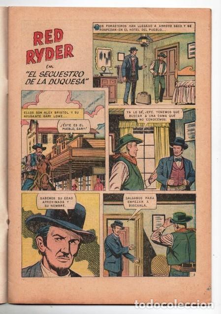 Tebeos: RED RYDER # 171 NOVARO 1968 CASTORCITO EL SECUESTRO DE LA DUQUESA MUY BUEN ESTADO - Foto 2 - 165803078