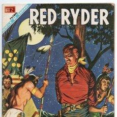 Tebeos: RED RYDER # 183 NOVARO 1968 CASTORCITO PRISIONERO DE LOS SIOUX MUY BUEN ESTADO. Lote 165888374