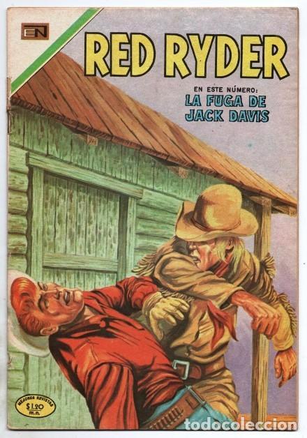 RED RYDER # 222 NOVARO 1970 CASTORCITO LA FUGA DE JACK DAVIS MUY BUEN ESTADO (Tebeos y Comics - Novaro - Red Ryder)