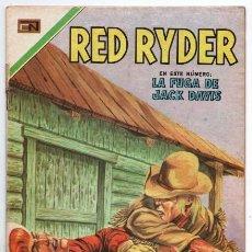 Tebeos: RED RYDER # 222 NOVARO 1970 CASTORCITO LA FUGA DE JACK DAVIS MUY BUEN ESTADO. Lote 166001714