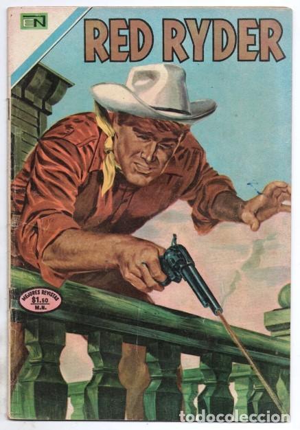RED RYDER # 272 NOVARO 1972 IGUAL # 8 DE 1955 FRED HARMAN CASTORCITO LA CLAVE MUSICAL MUY BUEN ESTAD (Tebeos y Comics - Novaro - Red Ryder)