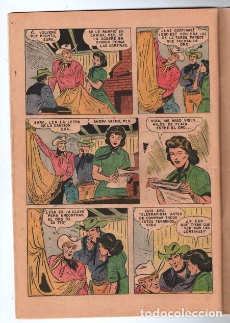 Tebeos: RED RYDER # 272 NOVARO 1972 IGUAL # 8 DE 1955 FRED HARMAN CASTORCITO LA CLAVE MUSICAL MUY BUEN ESTAD - Foto 3 - 166010966