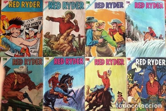 Tebeos: RED RYDER # 272 NOVARO 1972 IGUAL # 8 DE 1955 FRED HARMAN CASTORCITO LA CLAVE MUSICAL MUY BUEN ESTAD - Foto 6 - 166010966