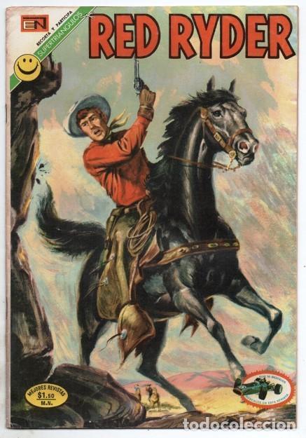 RED RYDER # 283 NOVARO 1972 IGUAL # 19 DE 1955 FRED HARMAN CASTORCITO EL VALLE DE LAS .... EXCELENTE (Tebeos y Comics - Novaro - Red Ryder)