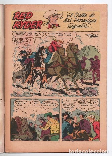 Tebeos: RED RYDER # 283 NOVARO 1972 IGUAL # 19 DE 1955 FRED HARMAN CASTORCITO EL VALLE DE LAS .... EXCELENTE - Foto 2 - 166017218