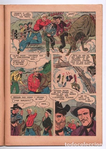 Tebeos: RED RYDER # 283 NOVARO 1972 IGUAL # 19 DE 1955 FRED HARMAN CASTORCITO EL VALLE DE LAS .... EXCELENTE - Foto 3 - 166017218