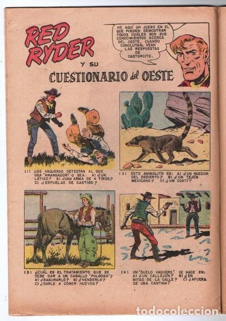 Tebeos: RED RYDER # 283 NOVARO 1972 IGUAL # 19 DE 1955 FRED HARMAN CASTORCITO EL VALLE DE LAS .... EXCELENTE - Foto 5 - 166017218