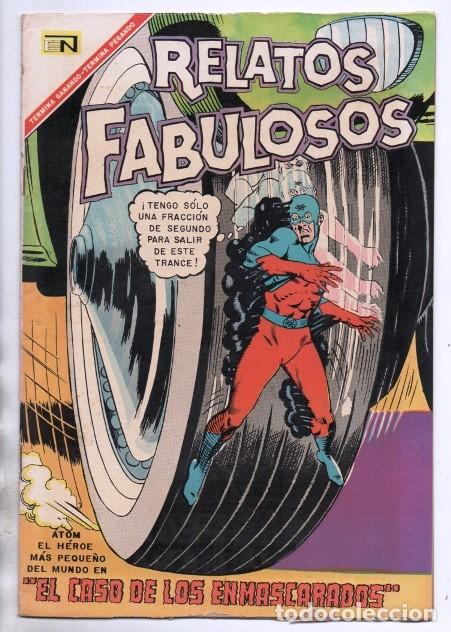 RELATOS FABULOSOS # 97 NOVARO 1967 DC THE ATOM # 17 1965 GARDNER FOX GIL KANE & SID GREENE IMPECABLE (Tebeos y Comics - Novaro - Sci-Fi)