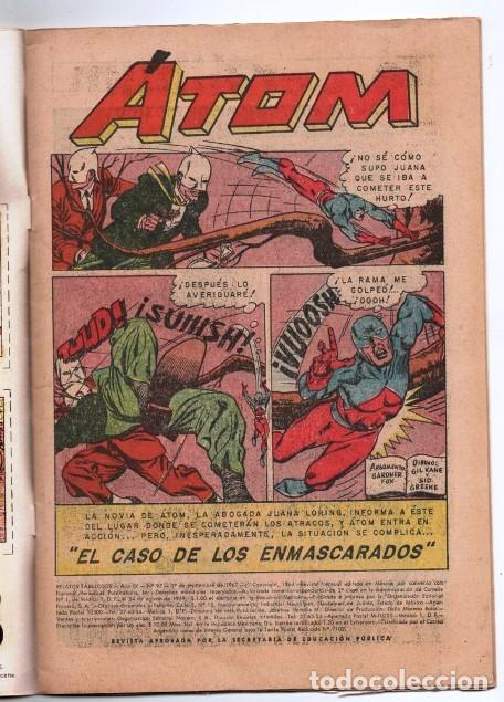Tebeos: RELATOS FABULOSOS # 97 NOVARO 1967 DC THE ATOM # 17 1965 GARDNER FOX GIL KANE & SID GREENE IMPECABLE - Foto 2 - 166057706