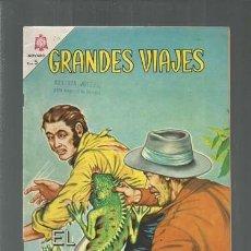 Tebeos: GRANDES VIAJES 20: EL FINAL HEROICO DE STANLEY, 1964, NOVARO, BUEN ESTADO. COLECCIÓN A.T.. Lote 166083614