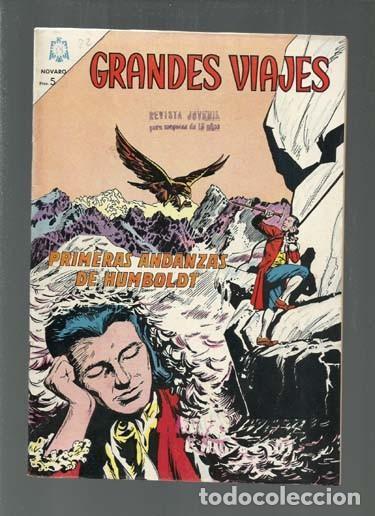GRANDES VIAJES 22: PRIMERAS ANDANZAS DE HUMBOLDT, 1964, NOVARO, BUEN ESTADO. COLECCIÓN A.T. (Tebeos y Comics - Novaro - Grandes Viajes)