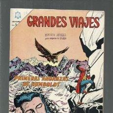 Tebeos: GRANDES VIAJES 22: PRIMERAS ANDANZAS DE HUMBOLDT, 1964, NOVARO, BUEN ESTADO. COLECCIÓN A.T.. Lote 166084158