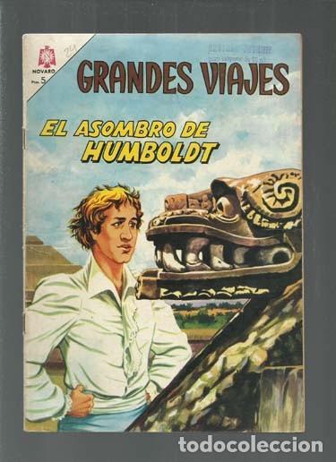 GRANDES VIAJES 24: EL ASOMBRO DE HUMBOLDT, 1965, NOVARO, BUEN ESTADO. COLECCIÓN A.T. (Tebeos y Comics - Novaro - Grandes Viajes)