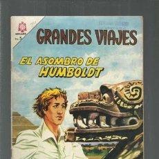 Tebeos: GRANDES VIAJES 24: EL ASOMBRO DE HUMBOLDT, 1965, NOVARO, BUEN ESTADO. COLECCIÓN A.T.. Lote 166084682