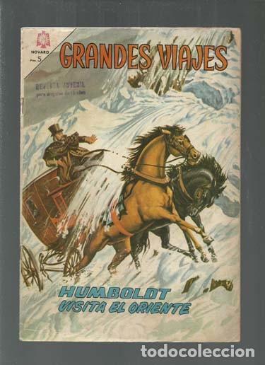 GRANDES VIAJES 25: HUMBOLDT VISITA EL ORIENTE, 1965, NOVARO. COLECCIÓN A.T. (Tebeos y Comics - Novaro - Grandes Viajes)