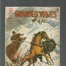 Tebeos: GRANDES VIAJES 25: HUMBOLDT VISITA EL ORIENTE, 1965, NOVARO. COLECCIÓN A.T.. Lote 166085030