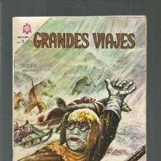Tebeos: GRANDES VIAJES 26: EL PASO DEL NOROESTE, 1965, NOVARO, BUEN ESTADO. COLECCIÓN A.T.. Lote 166085246