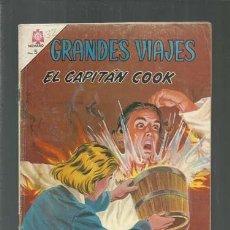Tebeos: GRANDES VIAJES 32: EL CAPITÁN COOK, 1965, NOVARO, BUEN ESTADO. COLECCIÓN A.T.. Lote 166086422