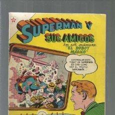 Tebeos: SUPERMÁN Y SUS AMIGOS 9, 1956, NOVARO, MUY BUEN ESTADO. Lote 166096070