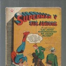 Tebeos: SUPERMÁN Y SUS AMIGOS 17, 1957, NOVARO, USADO. Lote 166096818