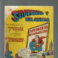 Tebeos: SUPERMÁN Y SUS AMIGOS 18, 1957, NOVARO, MUY BUEN ESTADO. Lote 166096998