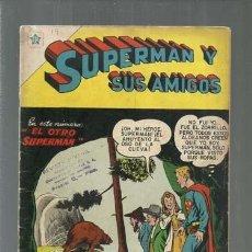 Tebeos: SUPERMÁN Y SUS AMIGOS 19, 1957, NOVARO, BUEN ESTADO. Lote 166097226