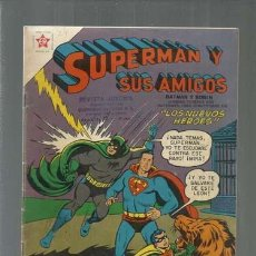 Tebeos: SUPERMÁN Y SUS AMIGOS 24, 1957, NOVARO, MUY BUEN ESTADO. Lote 166097438