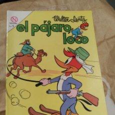 Tebeos: EL PÁJARO LOCO Nº 257 NOVARO DIFÍCIL. Lote 166157206