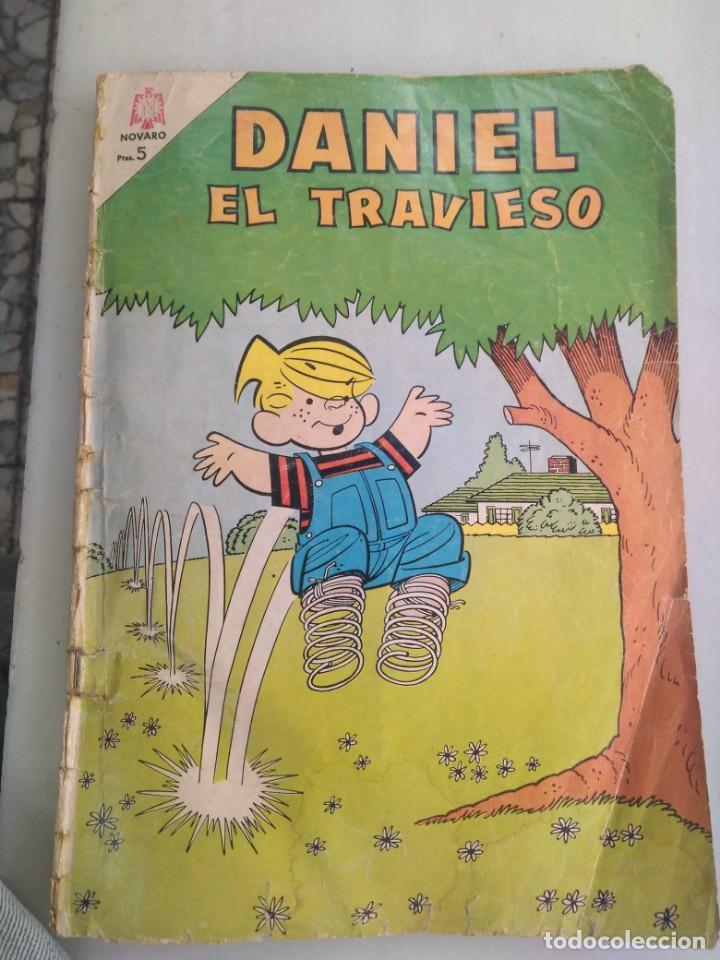 CÓMIC DE NOVARO DANIEL EL TRAVIESO (Tebeos y Comics - Novaro - Otros)