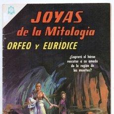 Tebeos: JOYAS DE LA MITOLOGIA # 43 NOVARO 1966 ORFEO & EURIDICE APOLO CARONTE PROTEO HADES EXCELENTE. Lote 166457282