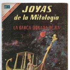 Tebeos: JOYAS DE LA MITOLOGIA # 57 NOVARO 1967 LA BARCA DORADA DE RA OSIRIS SET ISIS SEKHMET BUEN ESTADO. Lote 166463234