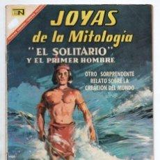 Tebeos: JOYAS DE LA MITOLOGIA # 69 NOVARO 1967 LOS MANDANES EL SOLITARIO & EL PRIMER HOMBRE MUY BUEN ESTADO. Lote 166465214