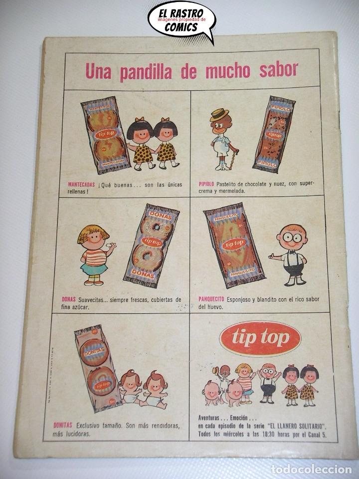 Tebeos: El Llanero Solitario nº 158, ed. Novaro, original - Foto 2 - 166611118