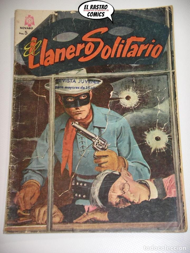 EL LLANERO SOLITARIO Nº 158, ED. NOVARO, ORIGINAL (Tebeos y Comics - Novaro - El Llanero Solitario)