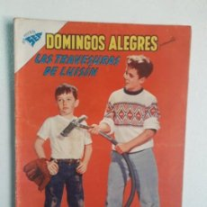 Tebeos: DOMINGOS ALEGRES N° 338 - LAS TRAVESURAS DE LUISÍN - ORIGINAL EDITORIAL NOVARO. Lote 166753070