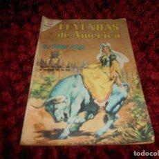 Tebeos: TEBEOS-COMICS GOYO - LEYENDAS DE AMERICA - NOVARO - Nº 123. Lote 166775534
