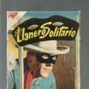 Tebeos: EL LLANERO SOLITARIO 61, 1958, NOVARO, ENCUADERNACIÓN. COLECCIÓN A.T.. Lote 166887424