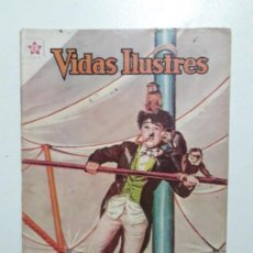 Tebeos: CHARLES CHAPLIN! - VIDAS ILUSTRES N° 68 - ORIGINAL EDITORIAL NOVARO. Lote 166980748