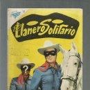 Tebeos: EL LLANERO SOLITARIO 72, 1959, NOVARO, BUEN ESTADO. COLECCIÓN A.T.. Lote 166993240